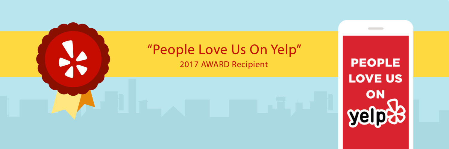 Waggy Walkys Yelp Award